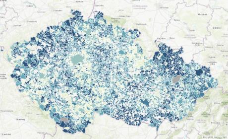 V zimním semestru 2021/2022 je opět posílena role GIS – Geografických informačních systémů v předmětu 5RE311 – Informační systémy veřejné správy